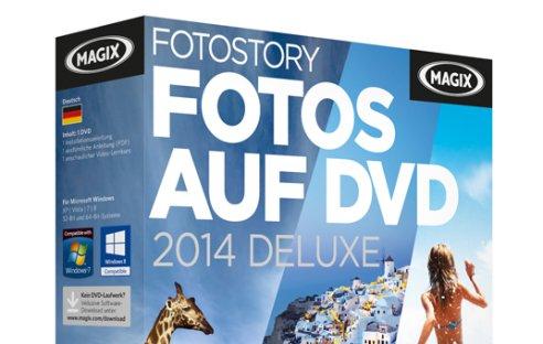 Fotos auf DVD 2014 Deluxe von Magix
