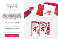 2 Packungen Kellogs Special K oder Special K Fruits + New Balance Sport Top für Damen für ca. 8€