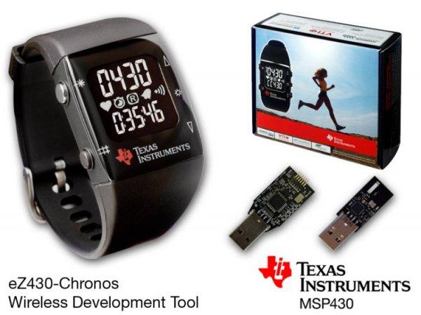 TI eZ430 Chronos programmierbare Armbanduhr mit Transceiver