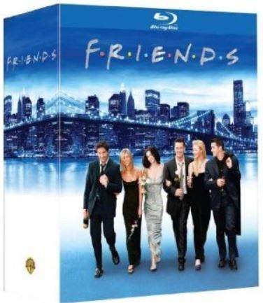 """friends superbox staffel 1-10 ... Blu-Ray Edition (amazon frankreich) """"DEUTSCH"""""""