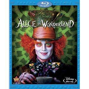 Alice In Wonderland - Tim Burton [Blu-ray] + [DVD] für 8,98€ @ Bee.com
