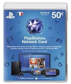 PlayStation Network Card 50€ für 46€ inkl. VSK @amazon.fr