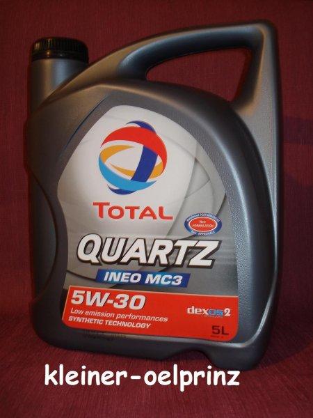 Total Quartz Ineo MC3 5W30 5 Liter Motorenöl für 24,85 EUR (4,97 pro Liter inkl. Versand)