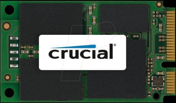 Crucial SSD M500 mSATA 120GB @amazon für 69,49€ inkl. VSK