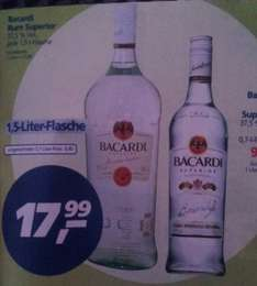 Bacardi Superior 1,5l 17,99€ (REAL BUNDESWEIT)