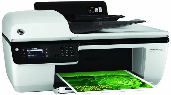 HP Officejet 2620 All-in-One Multifunktionsgerät (Scanner, Kopierer, Drucker, Fax, USB 2.0) weiß/schwarz