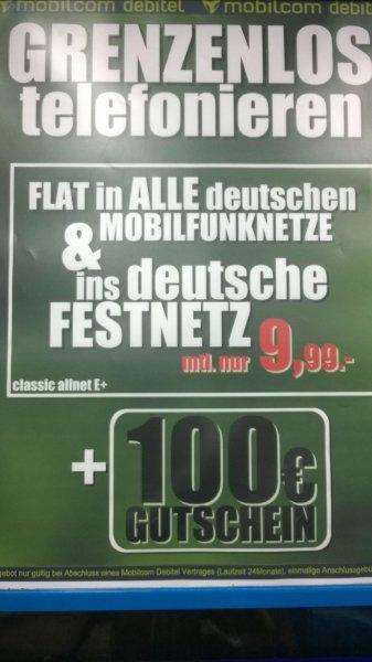 Telefonflatrate alle Netze für nur €7,07 umgerechnet
