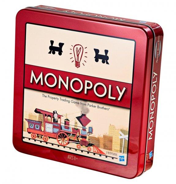 Hasbro Spiel Monopoly Nostalgie Deutsche Ausgabe