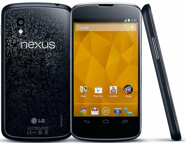 Smartphone LG Google Nexus 4 16GB für 259€
