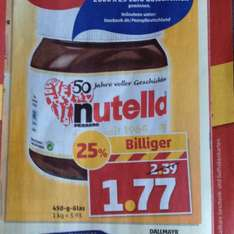 [Penny] Nutella 450g