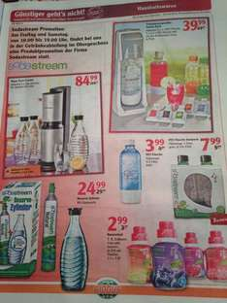 (Globus Wächtersbach) SodaStream Crystal Megapack (Ebay für 109)