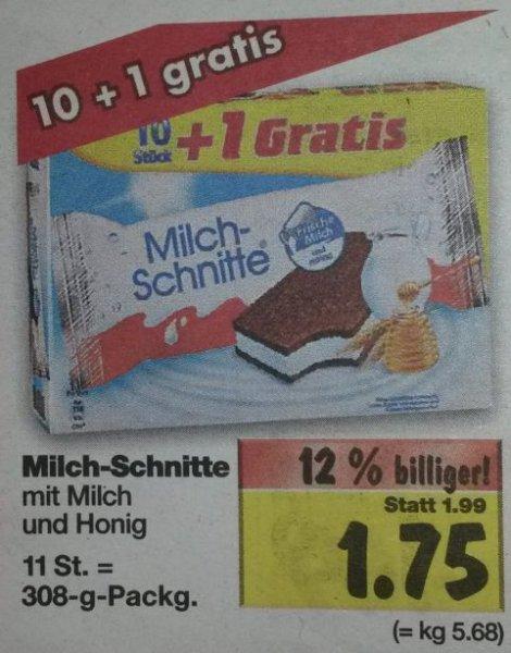 [Kaufland] : Milchschnitte für 1,75 €