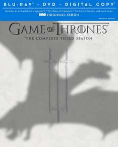 Game Of Thrones: The Complete Third Season (BluRay/DVD + Digital) bei Amazon.com für ~34€ vorbestellen