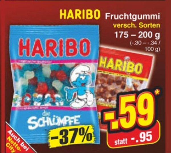 [Netto ohne Hund] 0,59€ Haribo versch. Sorten
