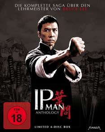 Ip Man Anthology - Limited 4-Disc Edition (Blu-ray) für 26€ @Media Dealer