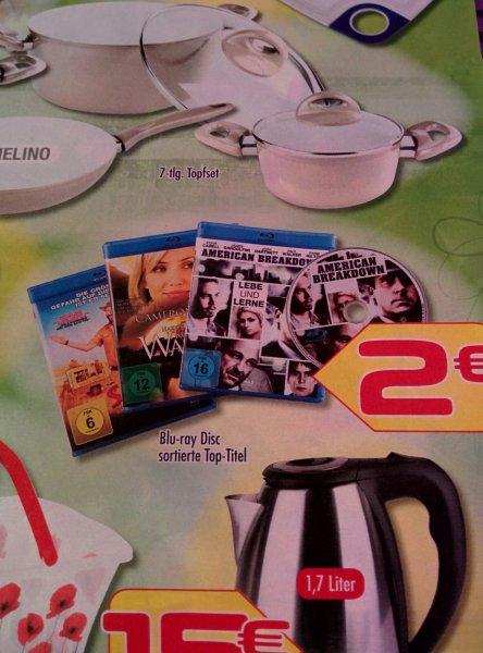 [Lokal Peine] verschiedene Blu-rays bei Euro Teufel für 2€