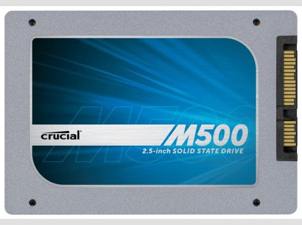 CRUCIAL M500 480 GB 2,5 Zoll SSD