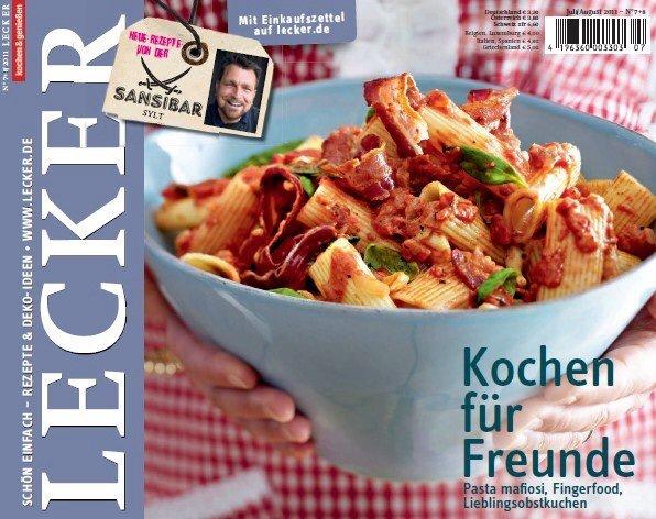 """Jahresabo Kochzeitschrift """"LECKER"""" für effektiv € 3,- durch amazon / Aral / Best Choice uvm. Gutschein"""