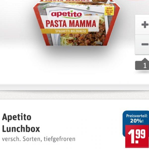 [Rewe] Apetito LunchBox mit Coupies App