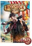 [Steam] Bioshock Infinite $4.99/3,65€ mit Coupon, ohne $9.99/7,30€