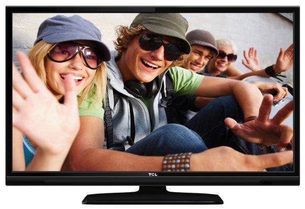 TCL L39E3003F/G 99 cm (39 Zoll) LED-Backlight-Fernseher, EEK A+ (Full-HD, 100 Hz CMI, DVB-C/T, 2x HDMI, CI+, Hotelmodus, USB 2.0) schwarz