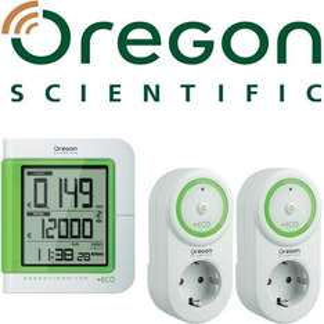 Conrad: Oregon Scientific 1x Funk-Geräte-Manager ESM 600 inkl. 2x Funk-Steckdose ESMR 600, 50% günstiger!