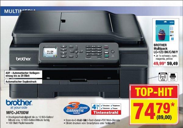 [offline] Metro: Epson MFC-J470DW Aio Tintenstrahldrucker