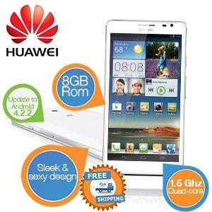 [iBood] Huawei Ascend Mate White   --  MeinPaket unterboten