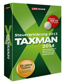 Lexware™ - Taxman 2014 (Retailversion) für €19.- [@Redcoon.de]