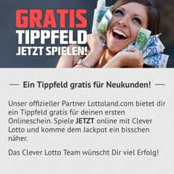 [Neukunden] gratis Lottofeld bei Lottoland