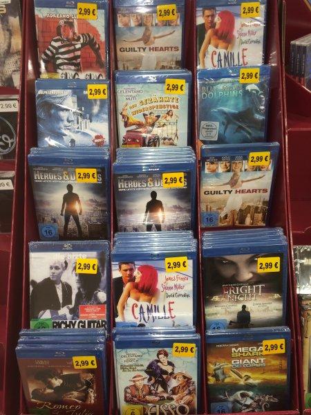 [Müller, offline; ab Februar Online] Verschiedene Blu Rays 2,99€ (und noch 3% Gutschein)