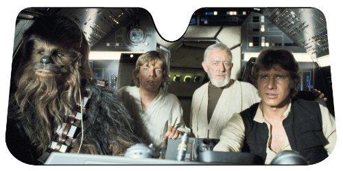 Star Wars Sonnenblende bei amazon.com