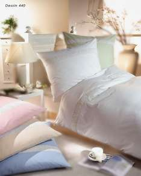 Markenbettwäsche von Kaeppel weiß 200x135cm oder 220x155cm