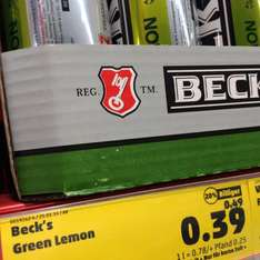 (Penny) Becks Green Lemon 0,5l