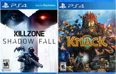 PS4  Knack und Killzone [Digital Code] je 29,29€ /Amazon