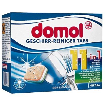 [Rossmann] domol Geschirr-Reiniger-Tabs 11in1 für 2,00€ (für 1,80€ bei Verwendung des 10% Coupon)
