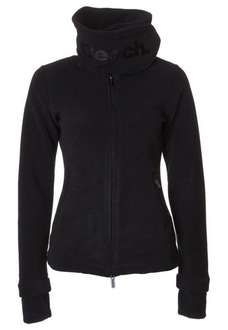 "UPDATE: Bench Fleecejacke Damen ""Funnelneck"" black @ Amazon für 27,98€"