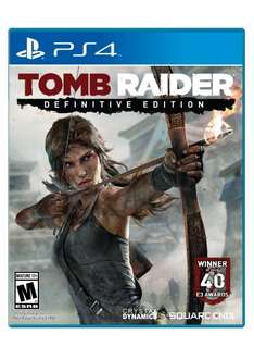 PS4 Tomb Raider Definitive Edition 43€ US Store mit PSN Guthaben