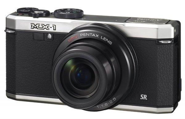 Pentax MX-1 Kompaktkamera (3 Zoll)Display, 12 Megapixel CMOS-Sensor, 1080p, silber für 225€ @Amazon.co.uk