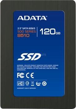 """ADATA S510 2,5"""" SSD 120 GB bei ZackZack (inkl. Versand)"""