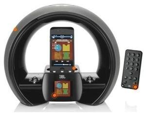 JBL On Air Wireless Dockingstation für iPod/iPhone schwarz für 43€ @Gravis