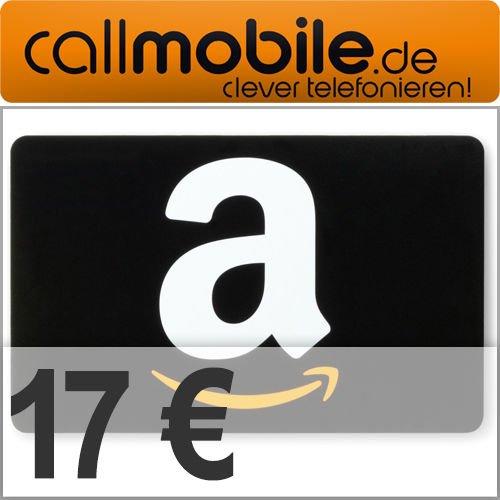 [Ebay] Callmobile SIM Karte mit 10€ Startguthaben + 17€ Amazon für 2,95