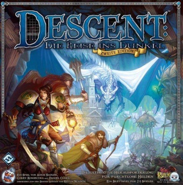 Descent - Die Reise ins Dunkel (2. Edition) Fantasygame ala Hero Quest / Legenden von Andor @Spieleoffensive