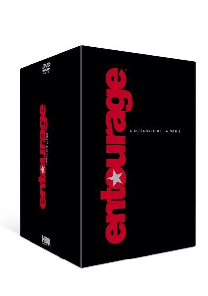 Entourage alle 8 Staffeln (Sprache Englisch/Französisch) auf DVD für 39,95€ inkl. Versand bei amazon.fr