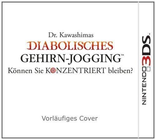 Dr. Kawashimas: Diabolisches Gehirn-Jogging 3DS für 19,60€ inkl. Versand (Idealo 28,95€)