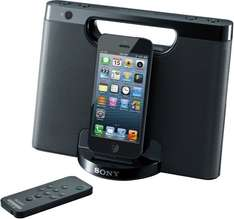 "Sony™ - Apple iPod/iPhone Docking-Lautsprecher ""RDP-M7iP"" (Schwarz) [Refurbished] ab €28,48 [@Sony.de]"
