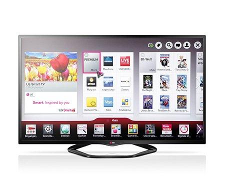Conrad: LED-Fernseher 119 cm 47 Zoll LG Electronics 47LN5758 DVB-T, DVB-C, DVB-S, Full HD, Smart TV, WLAN, PVR ready, CI+ Schwar