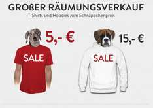 T-Shirts (und Hoodies) Raumungsverkauf bei la Fraise