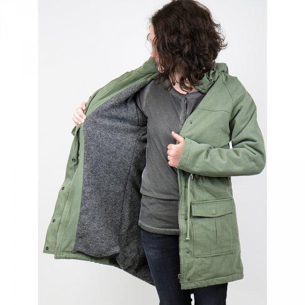 [zündstoff] WSV - Streetwear Clothing - schöner Parka von Wunderwek in Olive