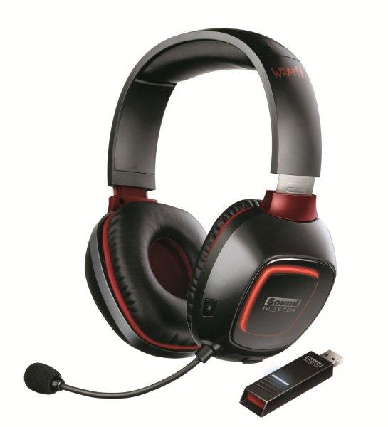 Ab 18Uhr bei Amazon: Creative Sound Blaster Tactic 3D Wrath Wireless Headset für 89€